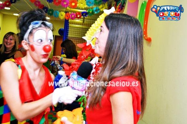 Animación de cumpleaños infantiles en Hoyo de Manzanares