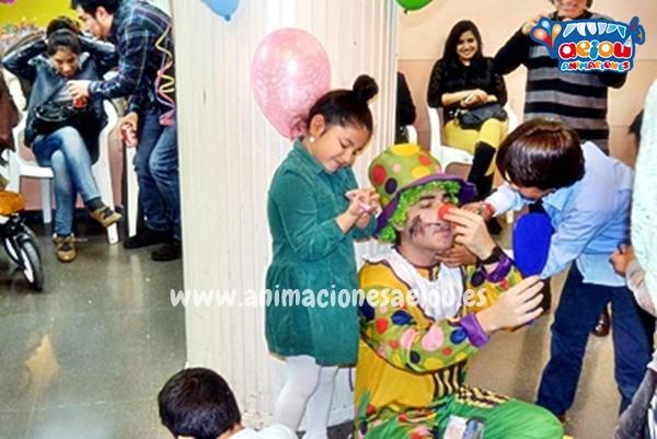 Animación de cumpleaños infantiles en Navacerrada