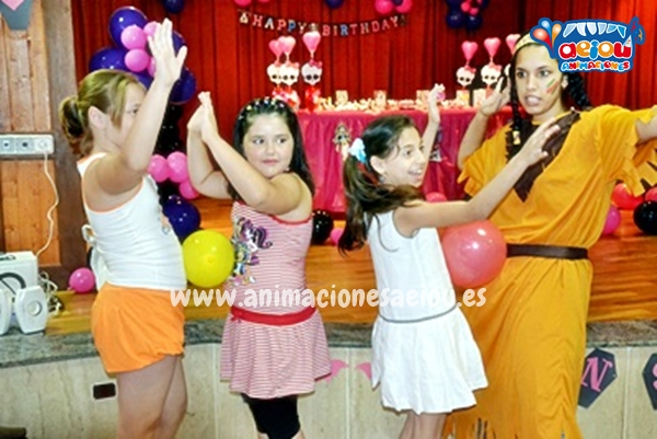 Animación de cumpleaños infantiles en San Martín de la Vega