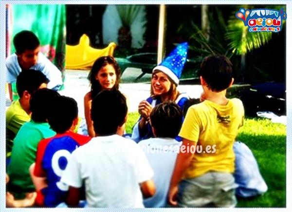 Animación de cumpleaños infantiles en Torrejón de Ardoz