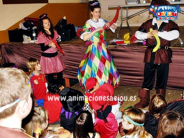 Animaciones de Fiestas Infantiles en Guadalajara