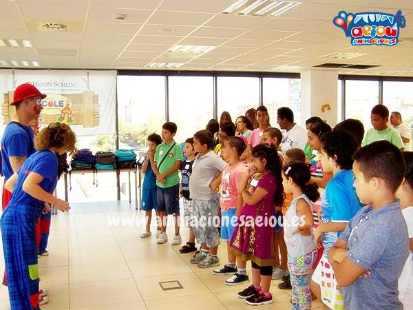 Animaciones de cumpleaños infantiles en El Escoria