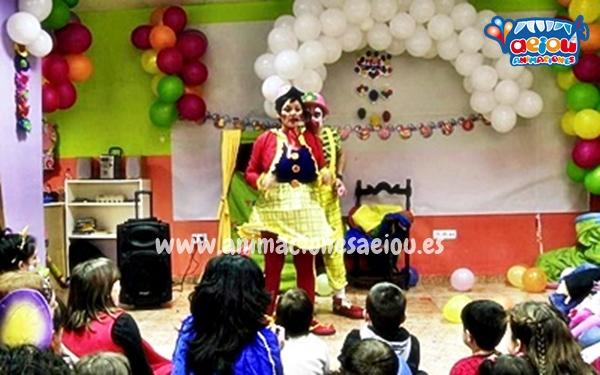 Animaciones para fiestas de cumpleaños infantiles en Talavera de la Reina