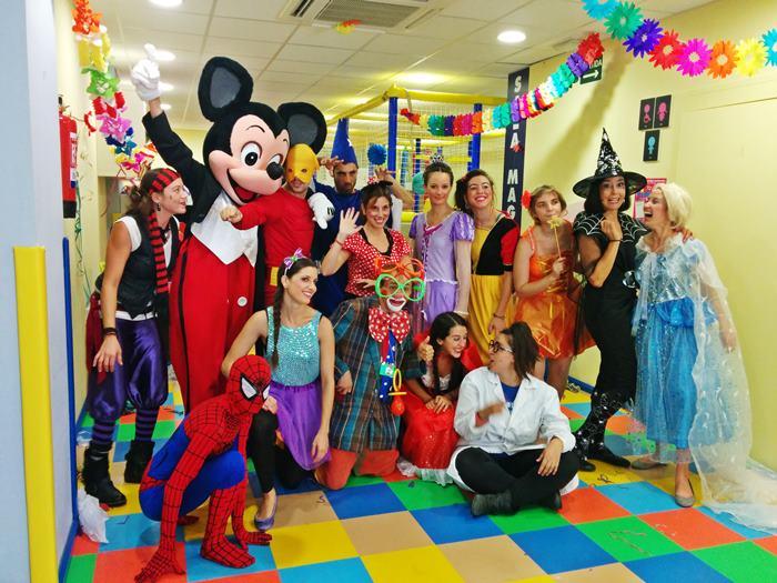 Animaciones para fiestas de cumpleaños infantiles y comuniones en Alcobendas