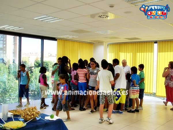 Animaciones para fiestas de cumpleaños infantiles y comuniones en Alovera