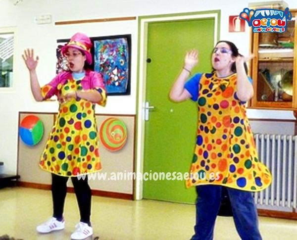 Animaciones para fiestas de cumpleaños infantiles y comuniones en Alpedrete
