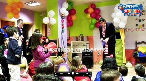 Animaciones para fiestas de cumpleaños infantiles y comuniones en Arévalo