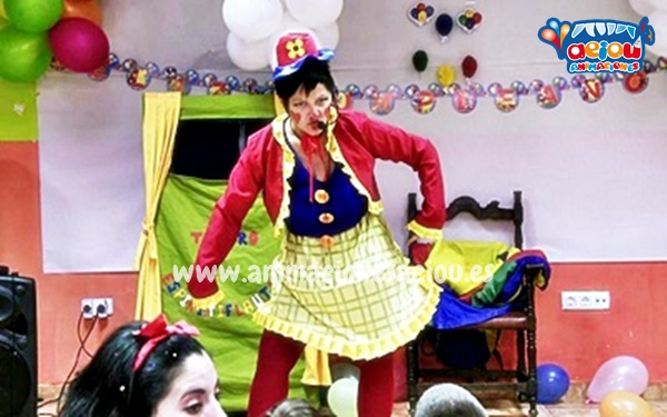 Animaciones para fiestas de cumpleaños infantiles y comuniones en Boadilla del Monte