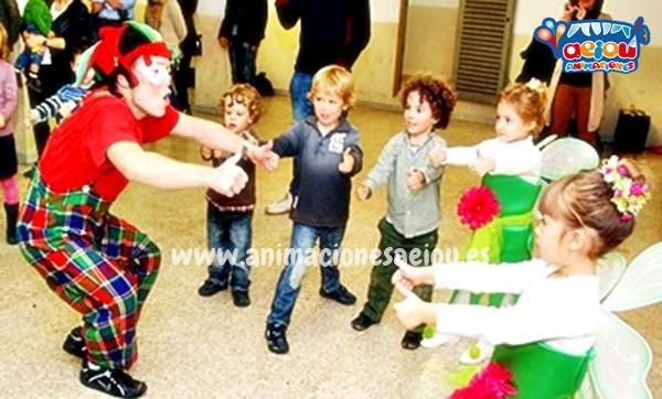 Animaciones para fiestas de cumpleaños infantiles y comuniones en Cobeña