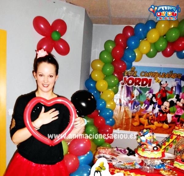 Animaciones para fiestas de cumpleaños infantiles y comuniones en Coslada