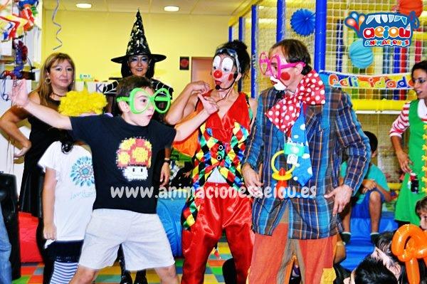 Animaciones para fiestas de cumpleaños infantiles y comuniones en Galapagar