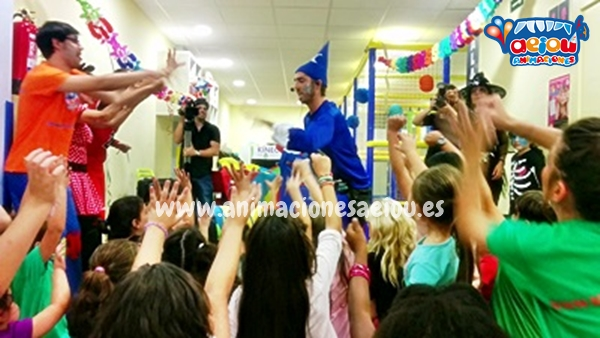 Animaciones para fiestas de cumpleaños infantiles y comuniones en Guadalajara