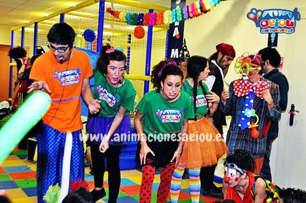Animaciones para fiestas de cumpleaños infantiles y comuniones en Guadalix de la Sierra
