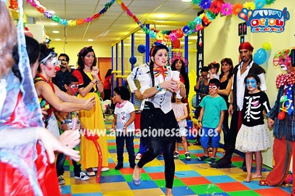 Animaciones para fiestas infantiles en Guadarrama