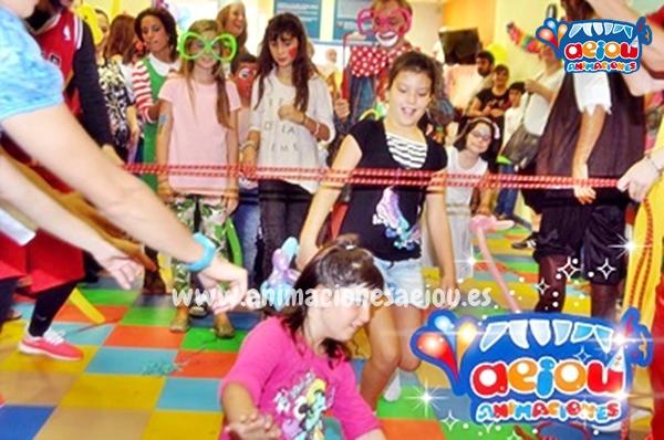 Animaciones para fiestas de cumpleaños infantiles y comuniones en Humanes de Madrid