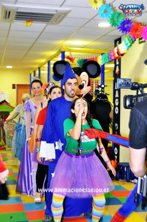 Animaciones para fiestas de cumpleaños infantiles y comuniones en Móstoles