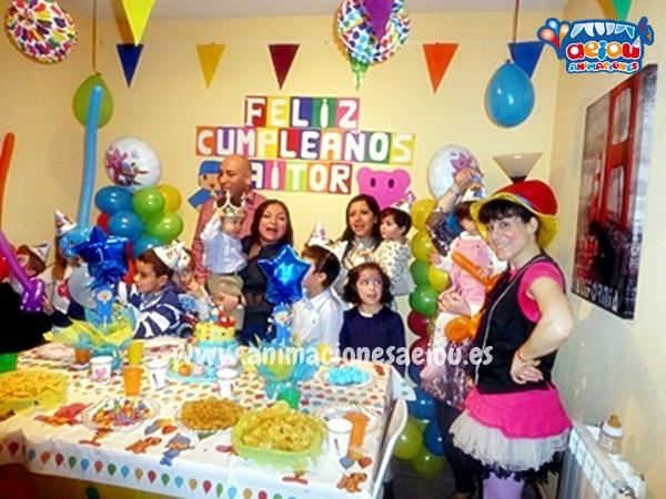 Animaciones para fiestas de cumpleaños infantiles y comuniones en Manzanares del real