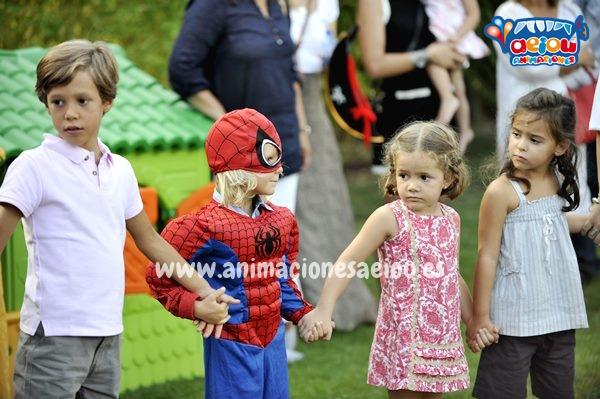 Animaciones para fiestas de cumpleaños infantiles y comuniones en Mataelpino