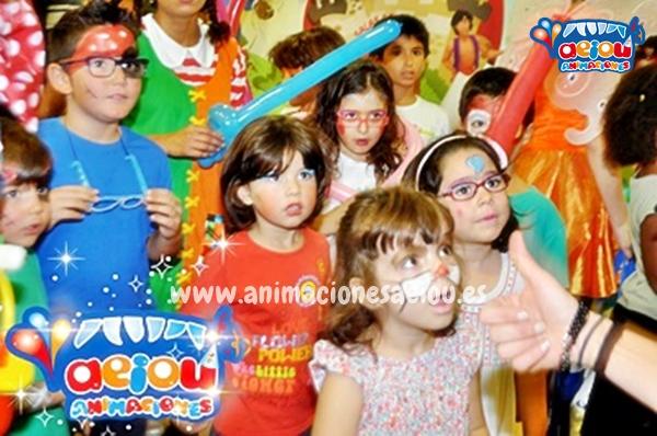 Animaciones para fiestas de cumpleaños infantiles y comuniones en Navalcarnero
