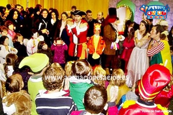 Animaciones para fiestas de cumpleaños infantiles y comuniones en San Idelfonso