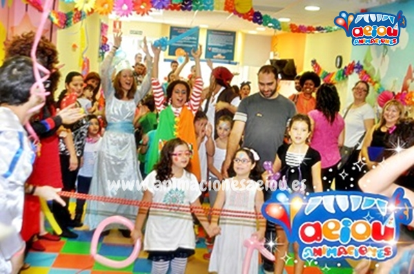 Animaciones para fiestas de cumpleaños infantiles y comuniones en Segovia