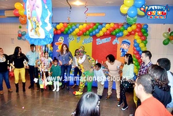 Animaciones para fiestas de cumpleaños infantiles y comuniones en Toledo