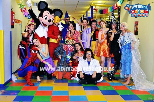Animaciones para fiestas de cumpleaños infantiles y comuniones en Torrelodones