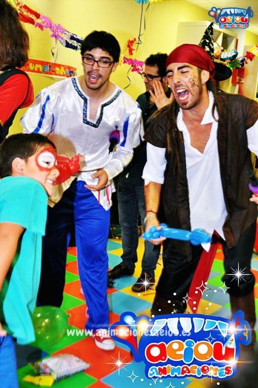 Animaciones para fiestas de cumpleaños infantiles y comuniones en Valdemorillo