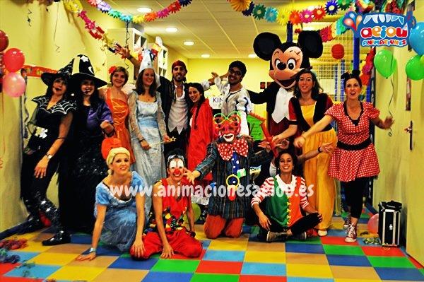 Animaciones para fiestas de cumpleaños infantiles y comuniones en Velilla de San Antonio