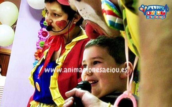 Animaciones para fiestas infantiles en Arévalo