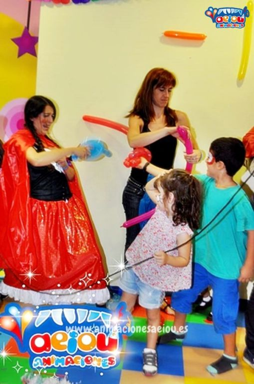 Disfruta de la animación de cumpleaños infantiles en Camarma de Esteruelas