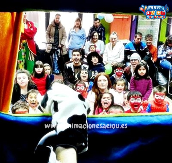 Payasos para fiestas infantiles en Alovera