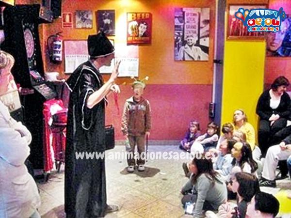 Magos para fiestas infantiles en Camarma de Esteruelas