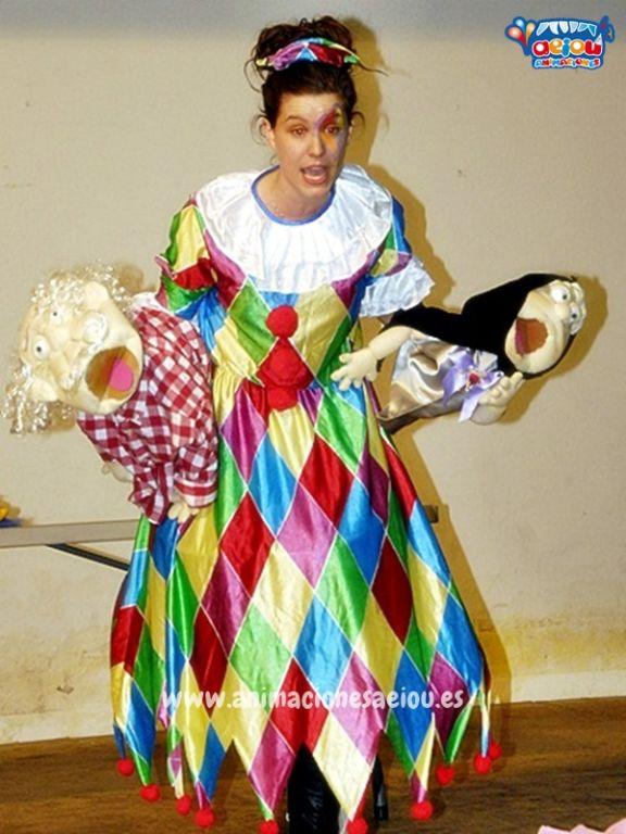 Payasos para fiestas infantiles en Galapagar