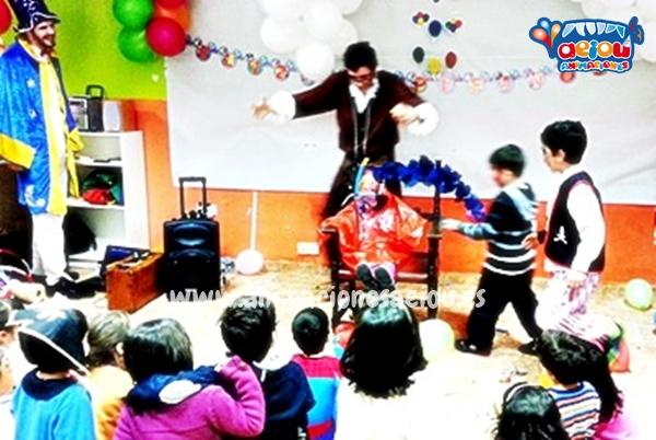 Payasos para fiestas infantiles en Miraflores de la Sierra