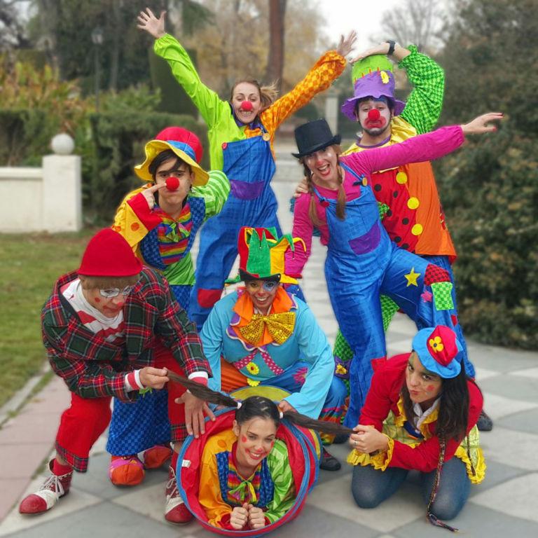 Payasos para fiestas infantiles en Los Molinos