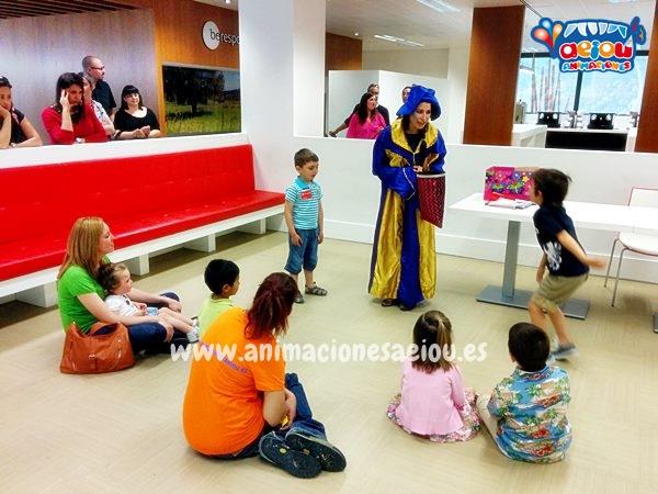 Animadores, magos y payasos infantiles en Navacerrada