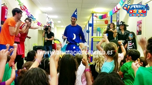 Magos para fiestas infantiles en Las Navas del Marqués