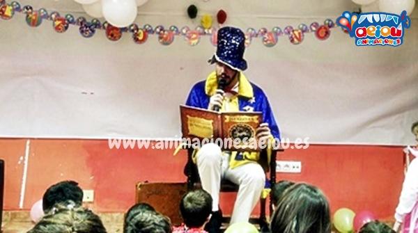 Animadores de cumpleaños infantiles en Talavera de la Reina