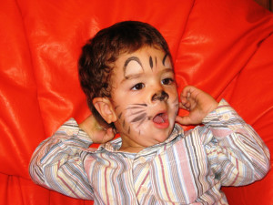 5 pintacaras de animales para niños