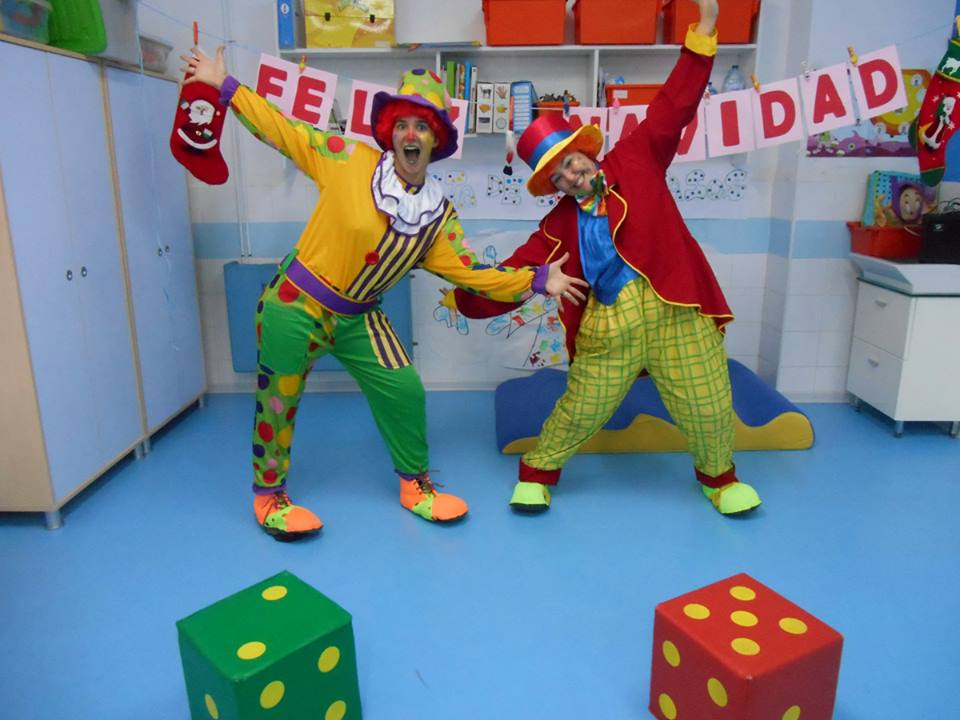 Juegos didacticos de cumpleaños infantil-dos animadores