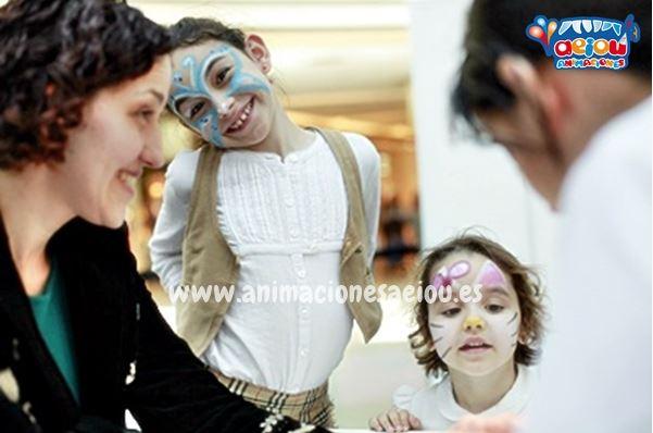 Pinturas para cara en Fiestas infantiles