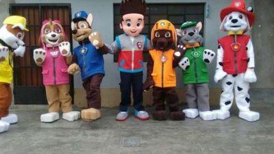 Alquiler de muñecos cabezones en Madrid